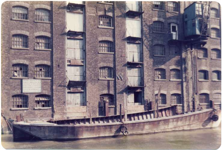 Butler's Wharf, 1979 (photo: Fran Cottell)