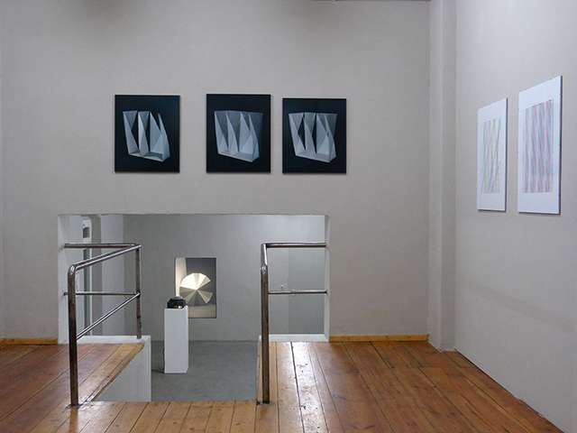 Schneeeule, Beyond Space - Rhythmus, Raum, Abstraktion, Katja Mater, Verena Pfisterer, Lis Rhodes, Verena Schirz-Jahn